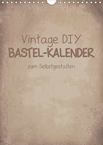 Vintage DIY Bastel-Kalender -Hochformat- (Wandkalender 2020 DIN A4 hoch)