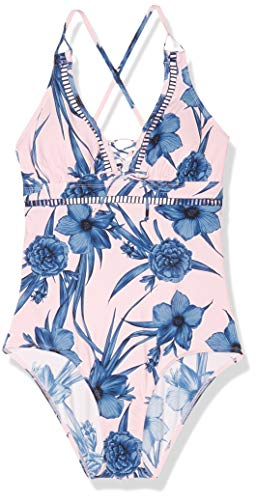 Skye Women's Standard Jane One Piece Swimsuit, Haven Floral Print, Small