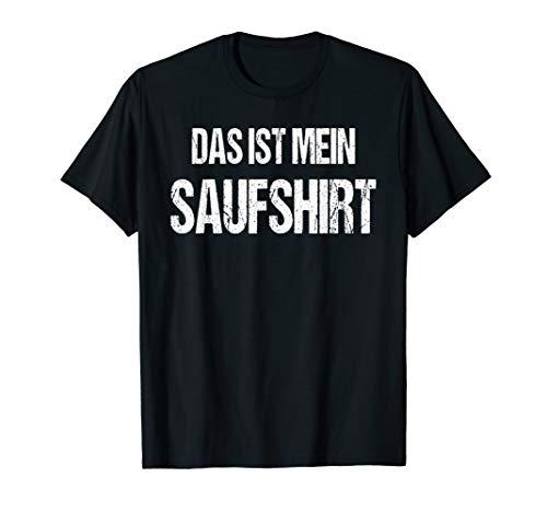 Saufshirt Lustiges Witziges Karneval Shirt Faschings Kostüm T-Shirt