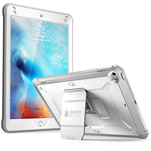 SUPCASE [Unicorn Beetle Pro Series] Design for iPad Mini 5 Case, with Built-In Screen Protector Full-body Rugged Kickstand Hybrid Case for iPad Mini 5 (2019 release) & iPad Mini 4 (White)
