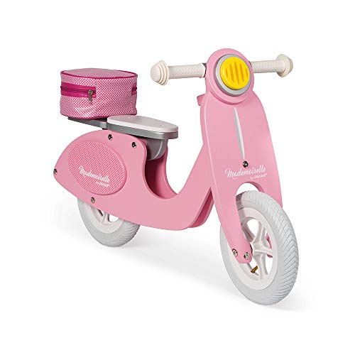 Janod J03239 Laufrad Groß Scooter aus Holz,