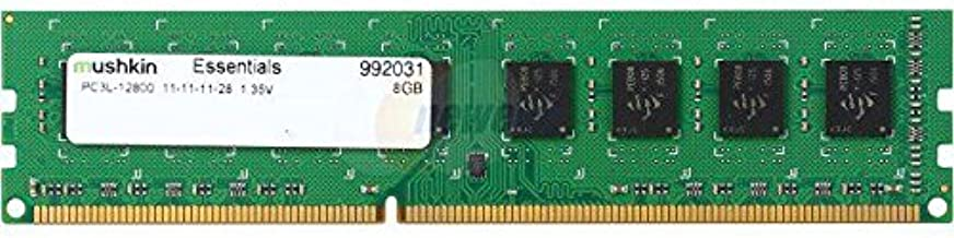 Mushkin Essentials – DDR3 Desktop DRAM – 8GB Memory Single Module DIMM – DDR3L-1600MHz (PC3L-12800) CL-11 – 240-pin 1.35LV RAM – Low-Voltage – Non-ECC UDIMM – (992031)