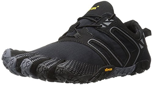 Vibram Women's V Trail Runner, Black/grey, 39 EU/8-8.5 M US
