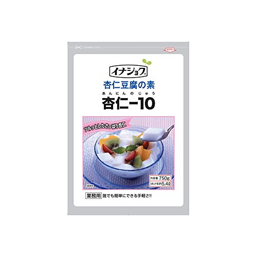 【常温】 伊那食品 杏仁豆腐の素 杏仁-10 750g 業務用 杏仁豆腐