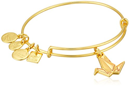 Alex and Ani Charity by Design, Paper Crane EWB Bangle Bracelet