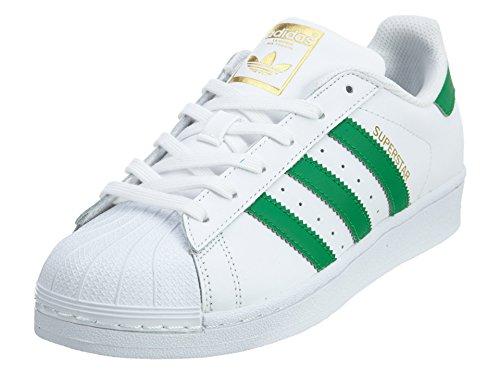 adidas Originals Superstar - Zapatillas unisex para niños, color Blanco, talla 23 EU