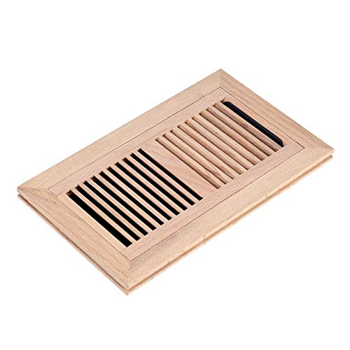 oak flush mount floor register - 3