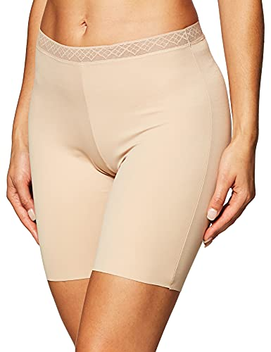 VASSARETTE Women's Invisibly Smooth Slip Short Panty 12385, VASS Latte, XX-Large/9