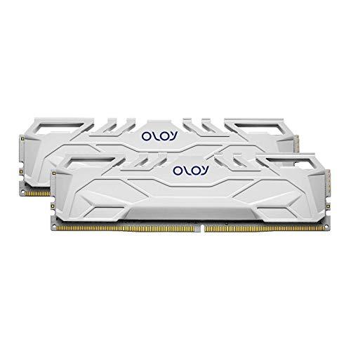 OLOy DDR4 RAM 16GB (2x8GB) 3200 MHz CL16 1.35V 288-Pin Desktop Gaming UDIMM (MD4U0832160BHWDA) Massachusetts