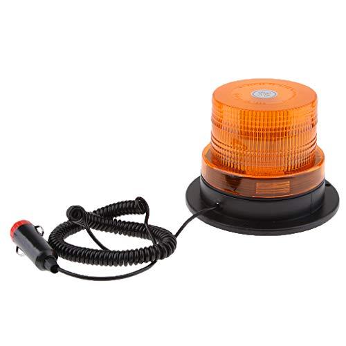 Homyl Balise à LED Ambre Magentic Prise de Cigarette 12V d'alimentation