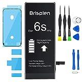 Brisplen 2360mAh Batería Recambio iPhone 6S con Kit de Reparación para Modelo A1633, A1688, A1700