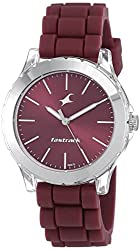 Fastrack Trendies Analog Red Dial Women's Watch NM68009PP06 / NL68009PP06,Fastrack,NL68009PP06