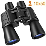 Binoculars, 10x50 Binoculars for Adults HD Compact Binoculars for Adults Bird Watching Kids