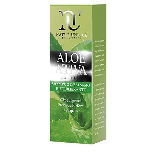 Natur Unique - Shampoo Riequilibrante Aloe Attiva