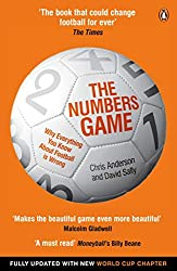 best football analytics books - the numbers game