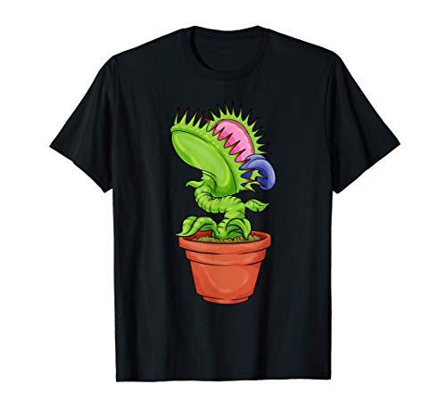 Piège à mouches Vénus Plante carnivore Pichet d'eau T-Shirt