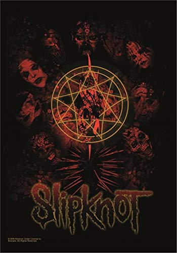 Slipknot Skull Official Textile Flag Poster