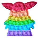 Pop IT Juguete Antiestrés Infantil de Colores | Juego para Niños y Adultos | Explota Las Burbujas ayudando a Relajarse y Aliviar Tensiones | Fidget Toy Push POPI Sensorial