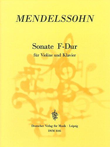 Brede kop Barbelly F. Sonate F-DUR - violine, piano klassieke snaren viool