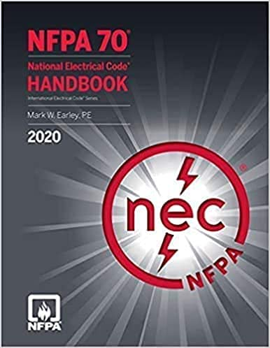 2020 NEC, NFPA 70, National Electrical Code ISBN: 978-1455922901
