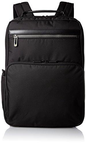 [エースジーン] 軽量ビジネスリュック フレックスライト フィット B4サイズ 2気室 PC収納 54561 ブラック One Size