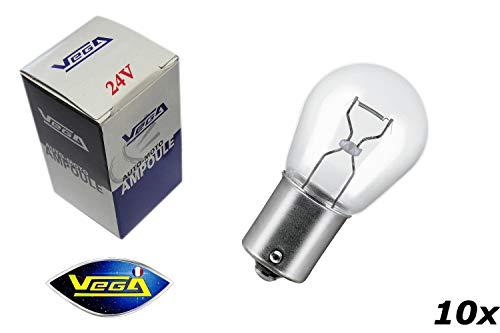 10 ampoules Vega® P21W 1156 BA15S\