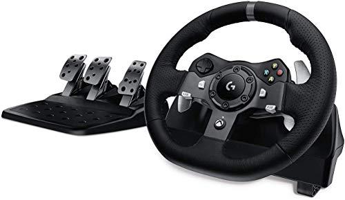 Racing Wheel en Floor Pedalen, Real Force Feedback, RVS schoep shifters, Leren stuur Cover, verstelbare Floor Pedalen ZHNGHENG