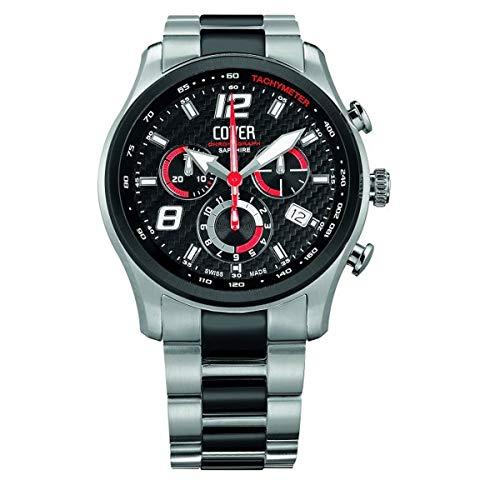 Cover Co135.BI1M/R - Reloj para Hombres, Correa de Cuero