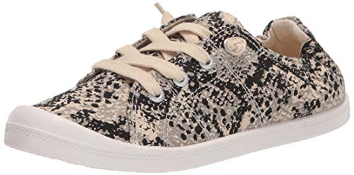 Madden Girl Women's BAAILEY Sneaker, Taupe Multi, 7 M US