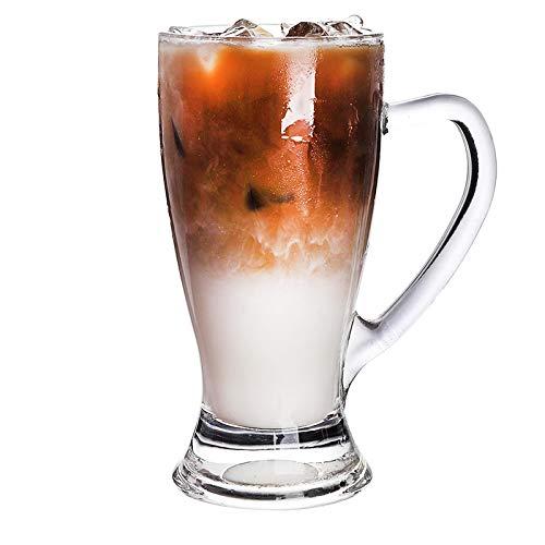Wjfijz Taza de café Taza Vaso receptáculo Amigos térmicos Regalo para Beber Jugo de Fruta de té de Leche 350ml