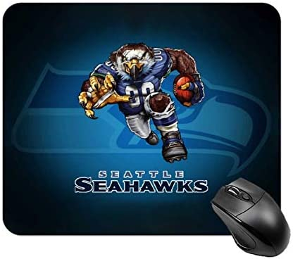 Football Team Logo Mouse pad Seahawks Non Slip Rubber Base Mouse Pads for Computers Laptop Office product image
