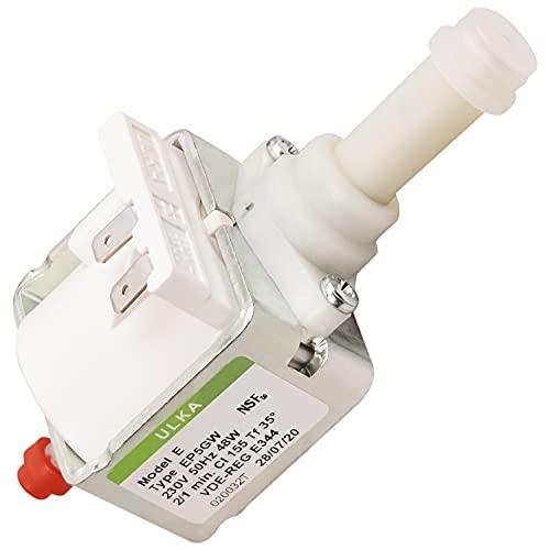 Wasserpumpe Pumpe Ersatz für Saeco 996530007753 12000140 Ulka EP5GW 48W 230V Elektropumpe für Kaffeemaschine