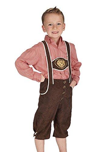 Andrea Moden - Kinderkostüm Trachtenhose, Oktoberfest, Volksfest, Karneval
