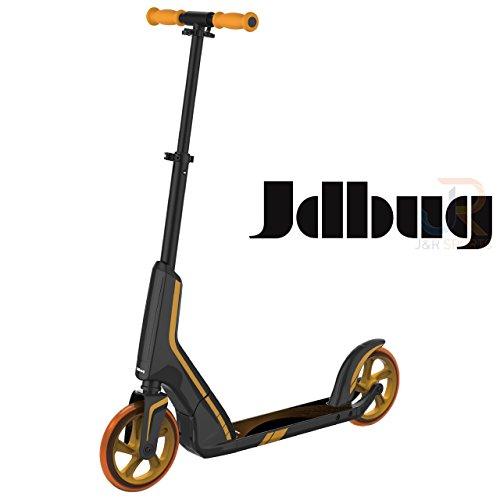 JD Bug Pro Commuter Scooter, Schwarz / Gold
