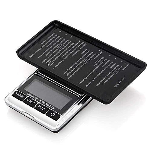 Keuken Thuis Multifunctionele Digitale Zakweegschaal 500G X 0 01G Mini Precisie Digitale Weegschaal Elektronische Zakken Weegschalen 0 01 LCD Gouden Munten Kruiden Goud Balans Gewicht