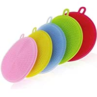 5-Pack Uusher Silicone Scrubber