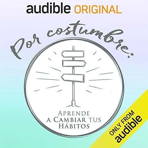 Diseño de la portada del título Por costumbre