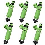 100% nuevo 6pcs inyector de combustible para M-ITSUBISHI MONTERO SPORT 3.0L 6G72 1998-2003 MD332733 195500-3170