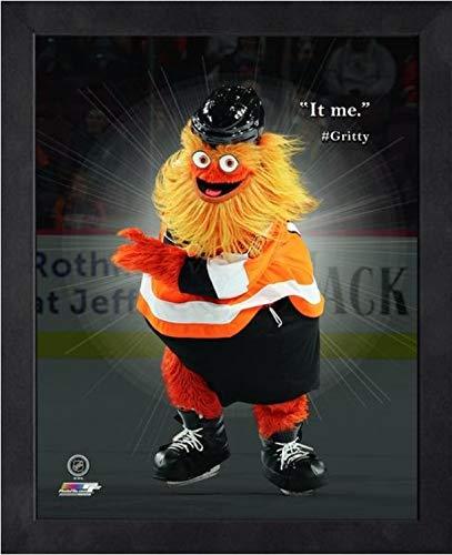 Philadelphia Flyers NHL Framed 8x10 Photograph Team Logo and Hockey Puck