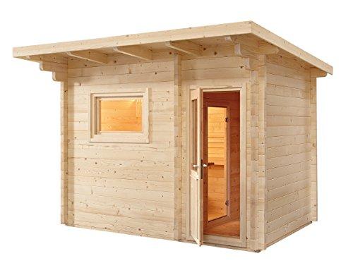 VB Italia Sauna Finlandese Norvegia per 6 Persone da Esterno con spogliatoio