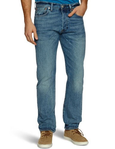 Levi'S 501 Original Straight, Jeans Uomo, Blu (On The Floor 1456), W32/L34
