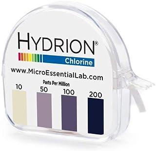 MICRO ESSENTIAL 塩素試験紙 CM-240 ロールタイプ 詰替ロール付