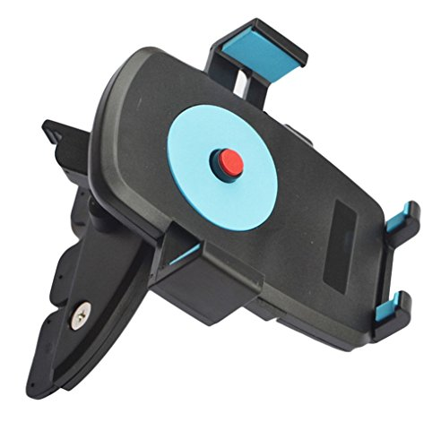 Demarkt KFZ Handyhalterung Auto CD Schlitz Handyhalter 360° CD Schacht KFZ Halterung Universal
