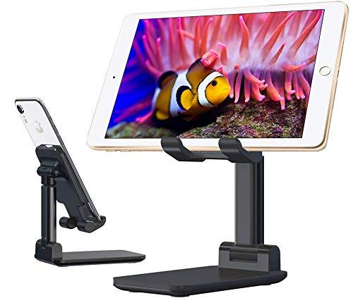 タブレットスタンド 折りたたみ スマホスタンド 卓上 72度角度調整 高さ調整可能 滑り止め 持ち運び便利 iPad/タブレット/スマホなど多機種対応