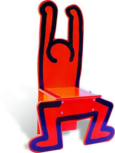 Vilac 9295 Keith Haring Stuhl, Rot