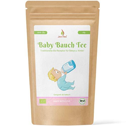 JoviTea Baby Bauch Tee BIO Tee für Babys und Kinder - Mit Fenchel und anderen kraftvollen Kräutern - 60g