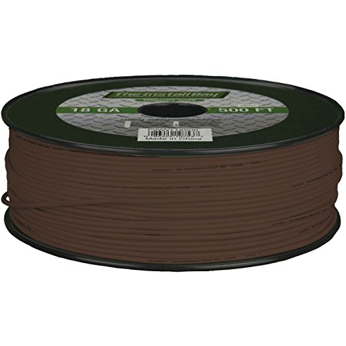 Metra PWBR18500 18-Gauge Primary Wire (Brown)