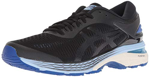 ASICS Women's Gel-Kayano 25 Running Shoes, 10M, Black/ASICS Blue