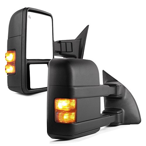 YITAMOTOR Towing Mirrors Compatible