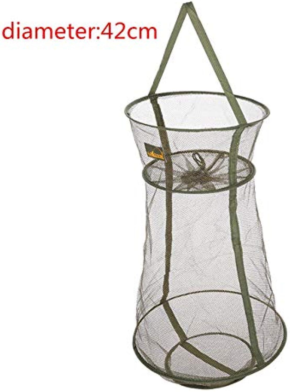 3 Layer QuickDry Fihing Net Folding Meh Net hrimp Fihing Tackle Minnow Fihing NetTrap Cat Dip Net C 4 IZE   42cm